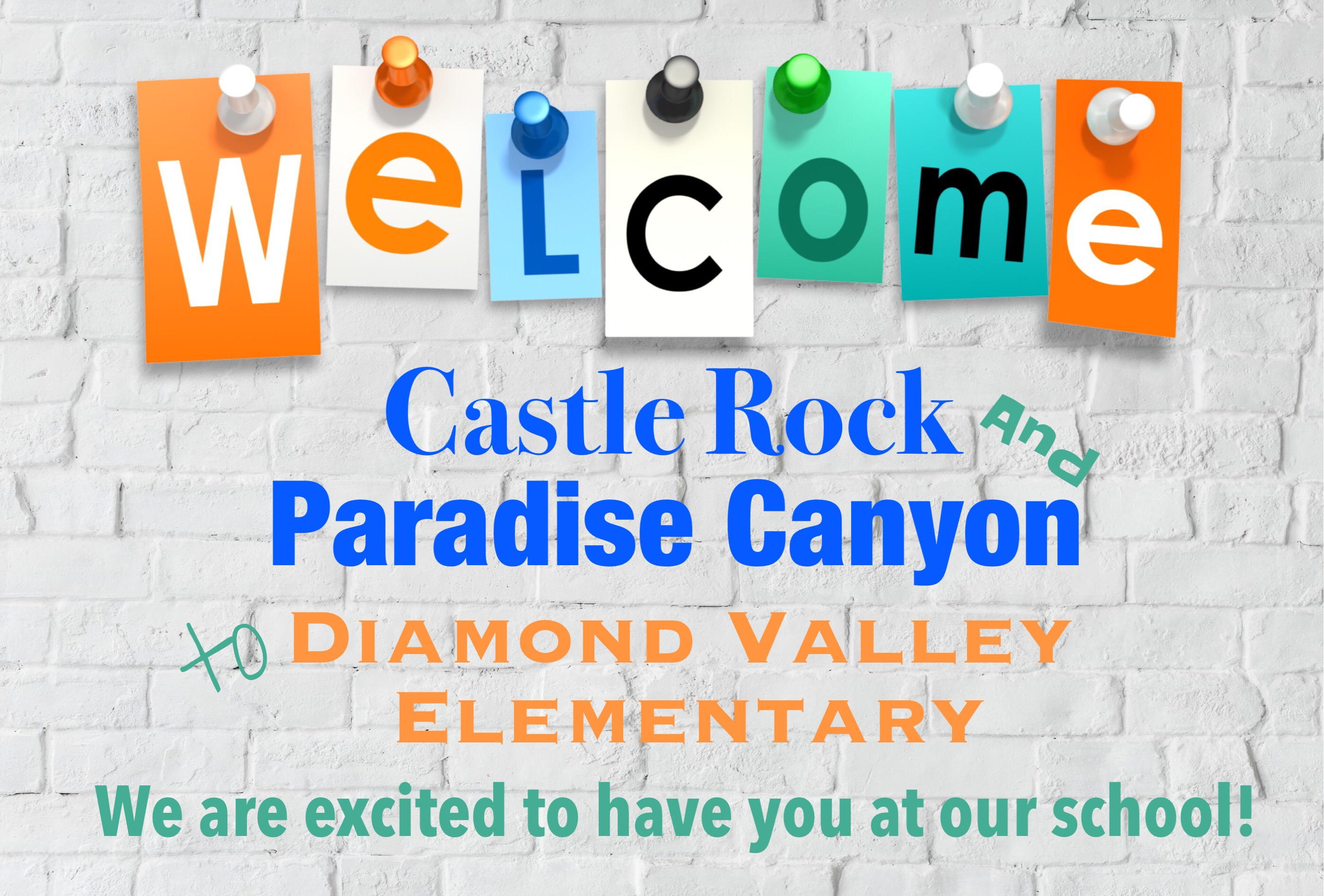 Welcome image for Castle Rock and Paradise Canyon neighborhoods